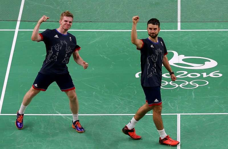 Olympics-Badminton-Langridge and Ellis fill British hearts with pride
