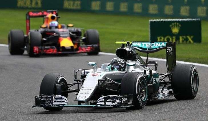 Hamilton podium sours Rosberg's Belgian win