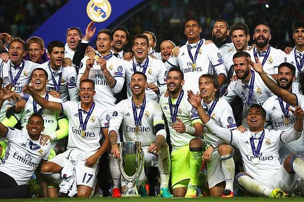 Real Madrid Squad Today
