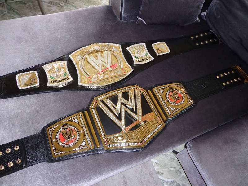 are wwe belts real gold a history of the championship belts