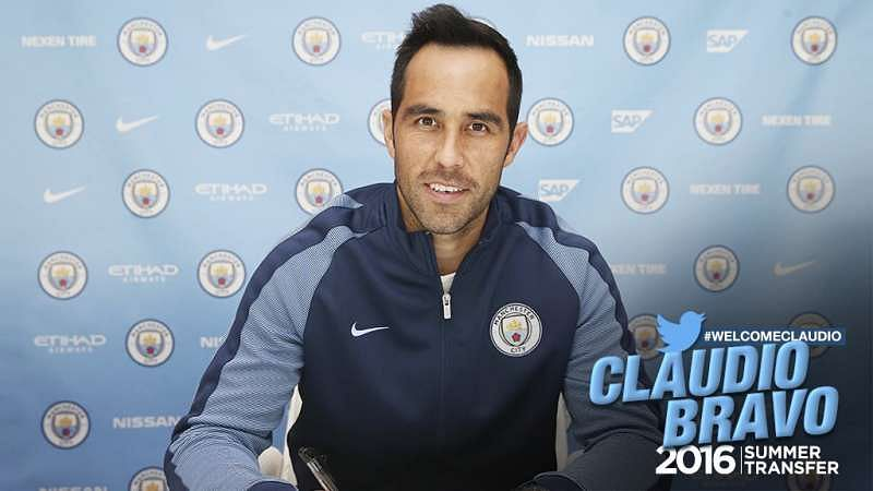 Claudio Bravo will not make Manchester City debut against West Ham