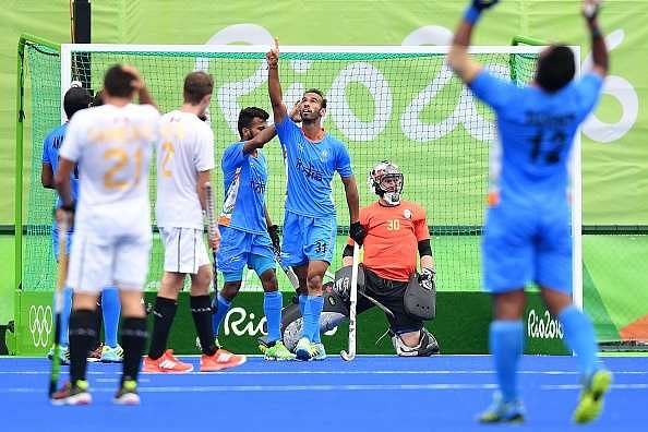 olympics story india draw canada final group match