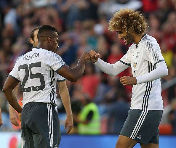 Image result for fellaini and valencia