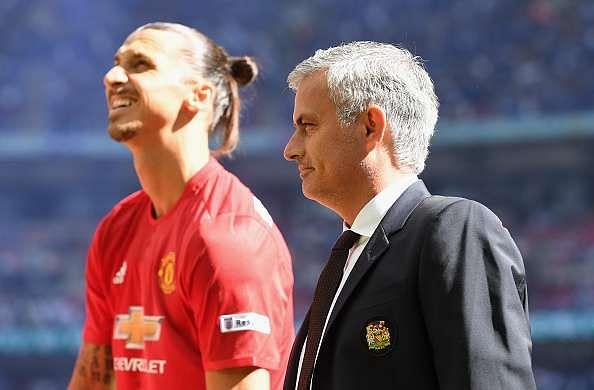 Zlatan Ibrahimovic joined Manchester United on a free transfer after