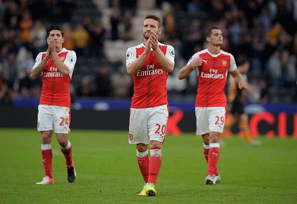 Image result for arsenal 3-0 chelsea mustafi