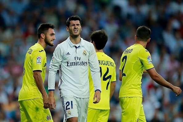 La liga 2016 17 real madrid 1 1 villarreal 5 talking points - Villarreal fc league table ...