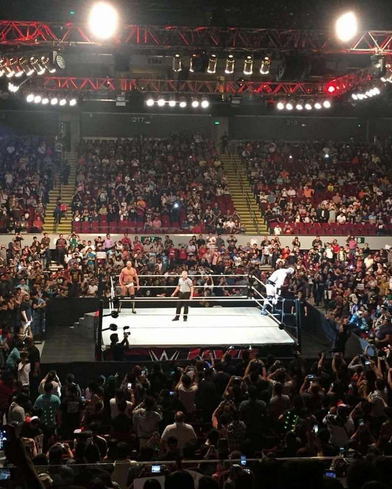 WWE Live Event Manila Results 9 September, 2016