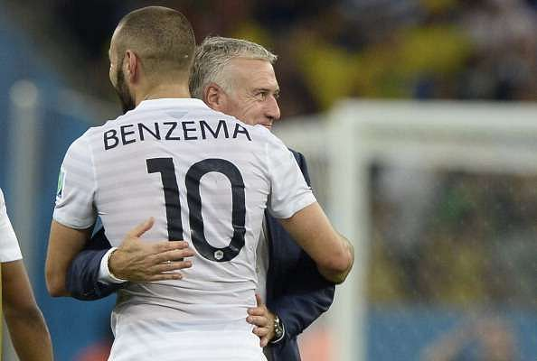 France manager Didier Deschamps defends Karim Benzema's omission; says it is good for the team