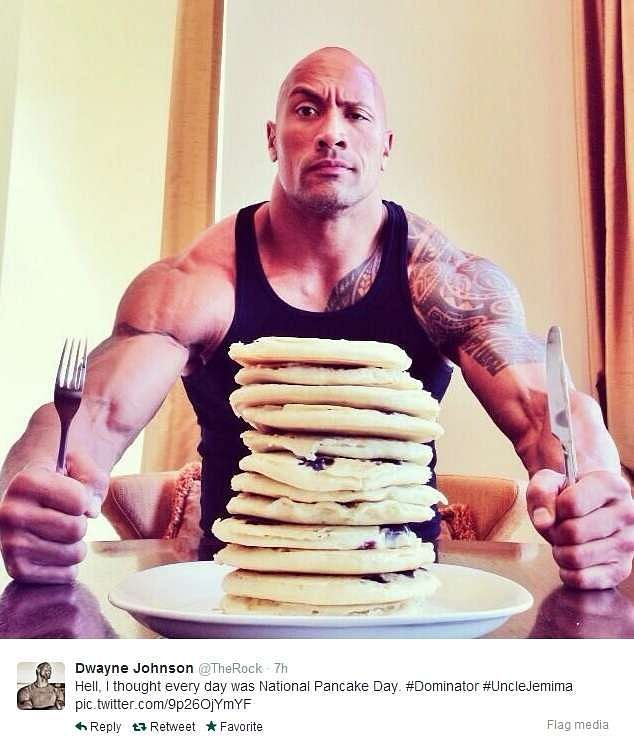 The Rock movies, tattoos, theme song, net worth, diet and ...