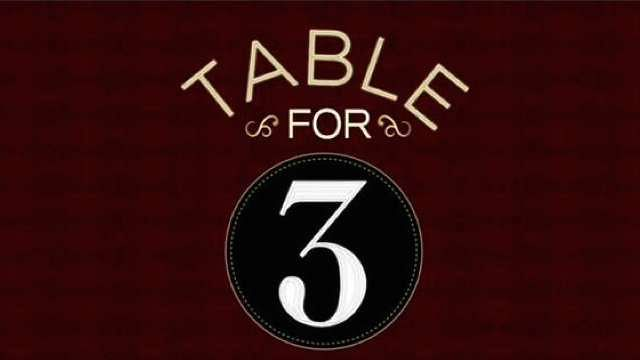 wwe news new table for 3 starring 3 legends airing after raw. Black Bedroom Furniture Sets. Home Design Ideas
