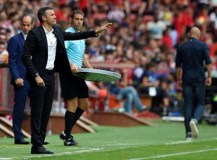 Barca have no excuses for loss at Celta, says Luis Enrique