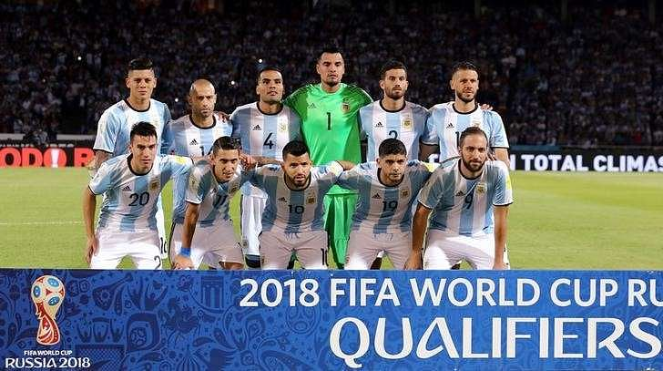 Argentina Squad For World Cup 2018 Qualifiers