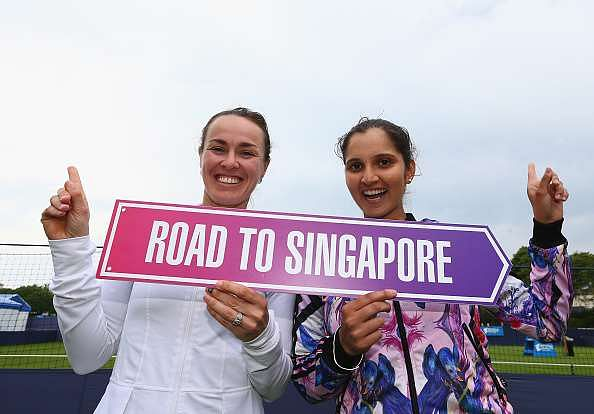 WTA Finals 2016: Sania Mirza and Martina Hingis through to semi-finals in women's doubles