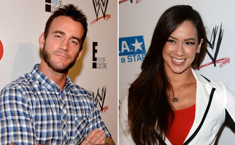 from Colten wwe cm punk dating aj lee