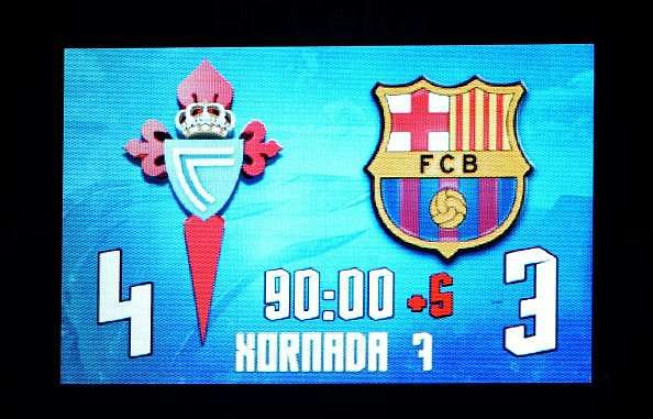 Twitter trolls Barcelona and Ter Stegen after shock 4-3 loss against Celta Vigo