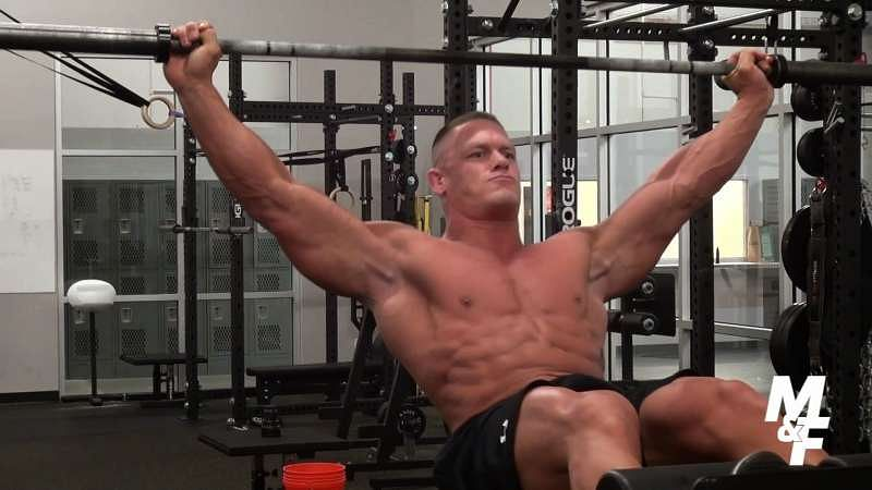 John cena diet what is the secret behind the wwe - John cena gym image ...
