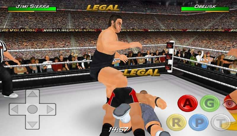 Wrestling Revolution D Exhibition : Best wwe games with free download for android