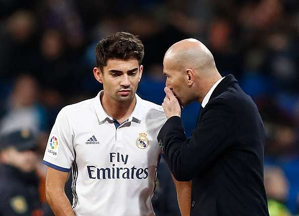 Twitter reacts as Enzo Zidane scores on his Real Madrid debut
