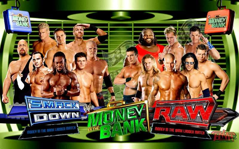 Image result for money in the bank 2010 matches