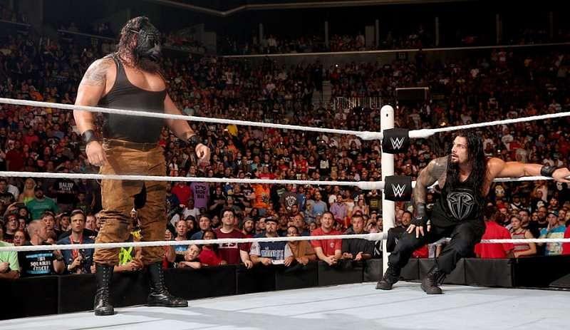 Roman Reigns vs Braun Strowman WWE Fastlane 2017