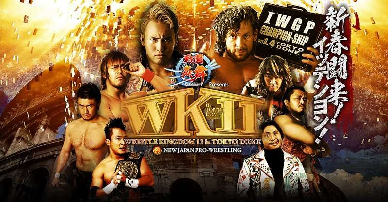 Image result for wrestle kingdom 11