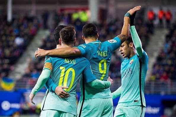 Eibar Barcelona