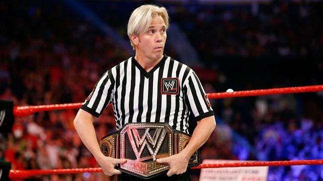 Charles Robinson WWE Referee Injured