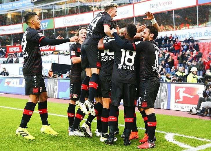 bayer leverkusen form