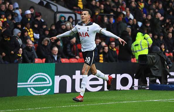 Dele Alli has everyone drooling