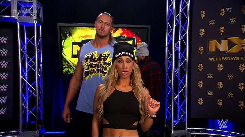 colin cassady carmella dating Nxt star carmella recently appeared on sam roberts' wrestling podcast discuss being the manager of enzo amore and colin cassady and more here are the highlights.