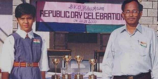 Rare childhood photos of indian badminton superstar saina nehwal