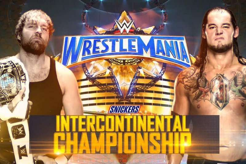 Image result for wrestlemania 33 WWE INTERCONTINENTAL CHAMPIONSHIP