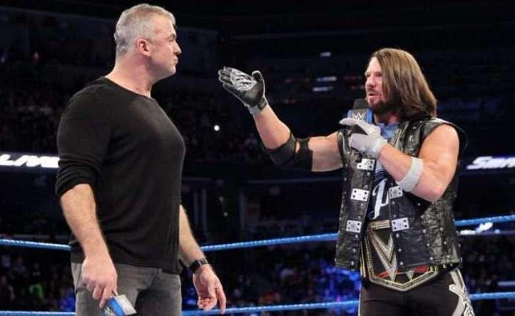Image result for Shane McMahon vs. AJ Styles