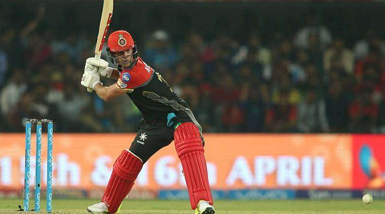 IPL 2017: AB de Villiers out injured for the match against ...