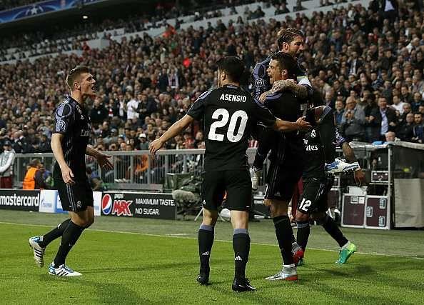 Player Ratings Real Madrid 2: UEFA Champions League 2016/17: Bayern Munich 1-2 Real