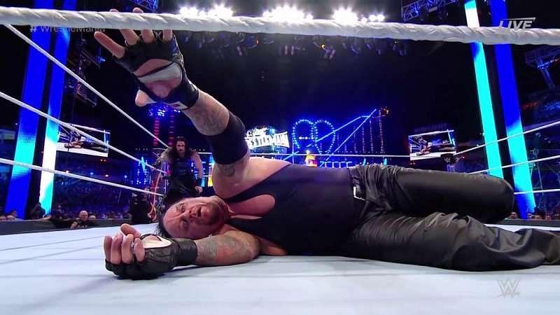 Roman Reigns vs Undertaker, WWE WrestleMania 2017 winner ...