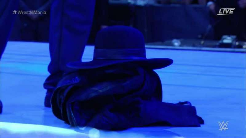 OFFICIAL: Roman Reigns retires The Undertaker at WWE ...