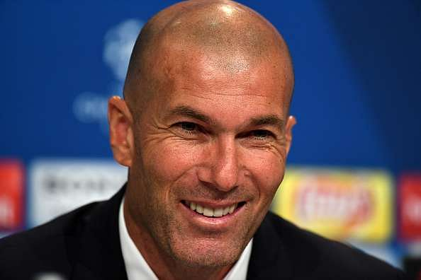 zidane smiling new