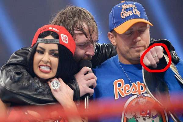 dean ambrose renee young 39 s marriage 5 facts you need to