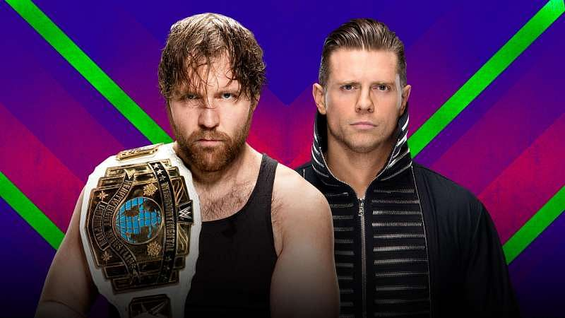 Image result for Intercontinental Championship The Miz vs Dean Ambrose Extreme Rules