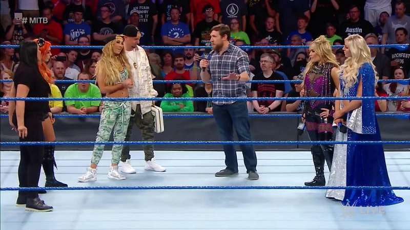 Image result for Daniel Bryan Strips Carmella Of MITB Briefcase, Announced Rematch For Next Week