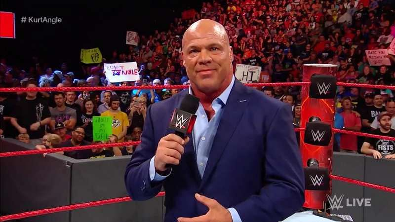 Image result for kurt angle 2017 raw