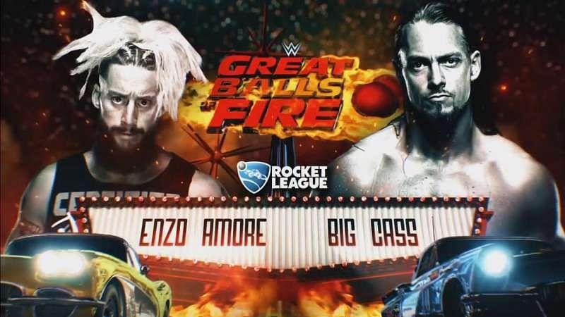 Resultado de imagen para enzo amore vs big cass great balls of fire