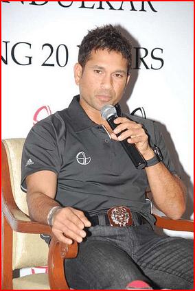 Sachin tendulkar 20 years